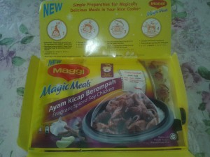 Maggi Magic Meals Fragrant Spiced Soy Chicken