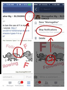 How To Get Notifications For Individual Posts In Groups Using FB App